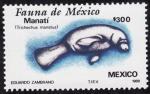 Sellos del Mundo : America : México : Fauna de México-MANATÍ