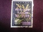 Stamps Venezuela -  oncididium Falcipetalum Lindi