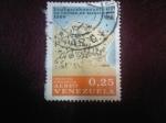 Stamps Venezuela -  PLANO VILLA DE MARACAIBO (1562)