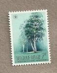Sellos de Europa - Bélgica -  Conservación de la naturalez