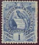 Sellos del Mundo : America : Guatemala : Quetzal Union Postal Universal Guatemala
