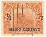 Sellos de America - Guatemala -  Justo Rufino Barrios