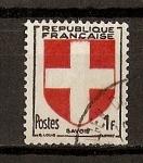 Sellos de Europa - Francia -  Escudos / Saboya.