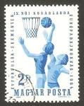 Stamps Hungary -  X campeonato europeo  de baloncesto femenino
