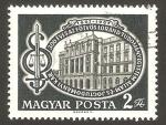 Sellos de Europa - Hungría -  III centº de la facultad de ciencias políticas de budapest