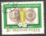 Stamps Hungary -  escuela de agricultura georgikon de kesthely