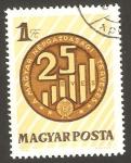 Stamps Hungary -  25 anivº de la planificación de la economía nacional