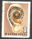 Sellos de Europa - Hungría -   XI congreso internacional de audición, en budapest