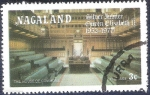 Stamps Nagaland -  25 años de reinado de Isabel II