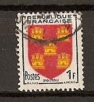 Sellos de Europa - Francia -  Escudos / Poitou.
