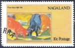 Sellos del Mundo : Asia : Nagaland :