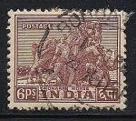 Sellos de Asia - India -  Caballo Konarak.