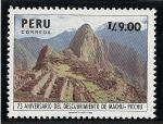 Sellos de America - Perú -  Santuario histórico de Machu Picchu