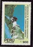 Sellos de America - Perú -  Parque Nacional Huascaran(Andinismo)
