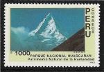 Stamps Peru -  Parque Nacional Huascaran(Alpamayo)