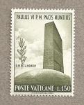 Sellos de Europa - Vaticano -  Pablo VI Nuncio de la Paz