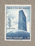 Stamps Vatican City -  Pablo VI Nuncio de la Paz