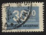 Sellos del Mundo : America : Argentina : Sello cifra. 30 pesos