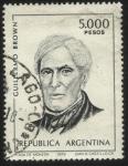 Sellos del Mundo : America : Argentina : Almirante Guillermo Brown. 1777 – 1857. Primer almirante de la fuerza naval de la Argentina.
