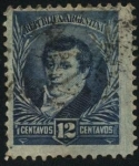 Stamps Argentina -  Manuel Belgrano 1770 – 1820. Economista, periodista, político, abogado y militar.