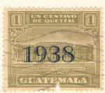 Stamps Guatemala -  Edificio de Correos y Telegrafos