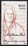Sellos de America - México -  Tricentenario del nacimiento Juan Sebástian Bach