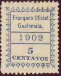 Sellos del Mundo : America : Guatemala : Franqueo Oficial