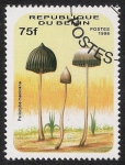Stamps Africa - Benin -  SETAS-HONGOS: 1.114.013,01-Psilocybe mexicana -Dm.996.141-Mch.851-Sc.879