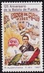 Sellos de America - México -  125 aniversario de la batalla de Puebla