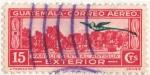 Stamps Guatemala -  Parque Central Antigua