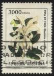sellos de America - Argentina -  Flor de Pata de Vaca. Bauhinia candicans.