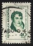 Sellos del Mundo : America : Argentina : Manuel Belgrano 1770 – 1820. Economista, periodista, político, abogado y militar.