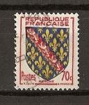 Sellos de Europa - Francia -  Escudos / La Marche.