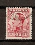 Sellos de Europa - España -  Tipo Vaquer de Perfil / Alfonso XIII.