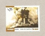 Stamps Portugal -  50 años erupción volcán dos Capelinhos