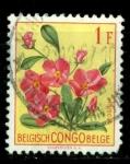 Sellos del Mundo : Africa : República_Democrática_del_Congo : Flores