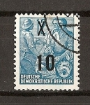 Stamps Germany -  Plan Quinquenal - Sobrecargados.