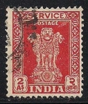 Sellos de Asia - India -  Los pilares de Ashoka.