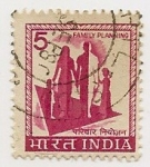 Stamps India -  Definitives (Family Plannning)