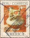 Stamps Peru -  América - Cirugía Precolombina.