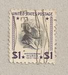 Sellos de America - Estados Unidos -  Woodrow Wilson, Presidente
