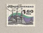 Sellos de Europa - Checoslovaquia -  Saris de Eslovaquia