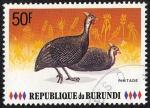 Sellos de Africa - Burundi -  Fauna