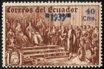 Sellos de America - Ecuador -  Conmemoraciones
