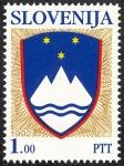 Sellos del Mundo : Europa : Eslovenia : Escudo