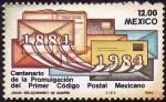 Stamps Mexico -  Centenario de la promulgación del primer código postal Mexicano
