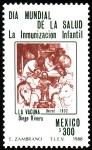 Stamps Mexico -  DÍA MUNDIAL DE LA SALUD