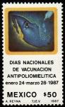 Stamps Mexico -  D,IAS NACIONALES DE VACUNACIÓN CONTRA LA POLIOMIELITIS