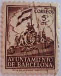 sellos de Europa - España -  frontispicio del ayuntamiento