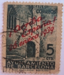 sellos de Europa - España -  conmemoracion de la liberacio de barcelona
